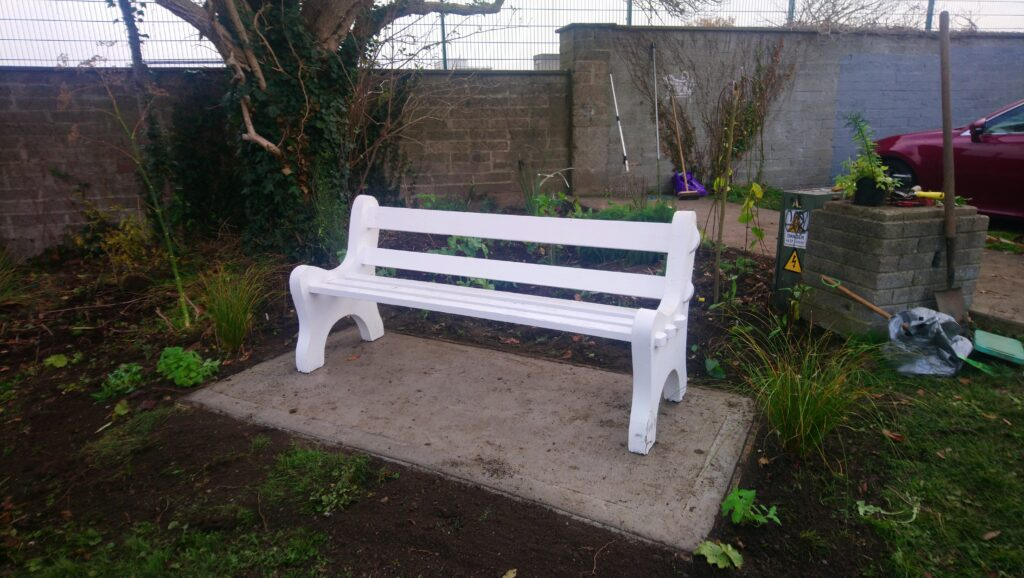 The new bench